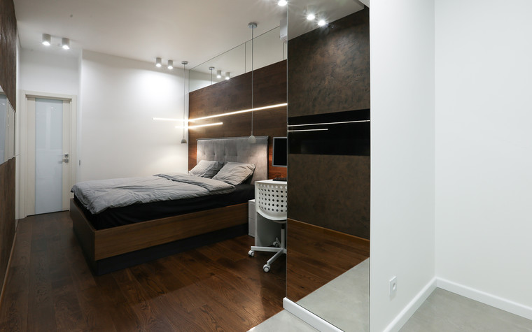 Квартира. спальня из проекта , фото №73617