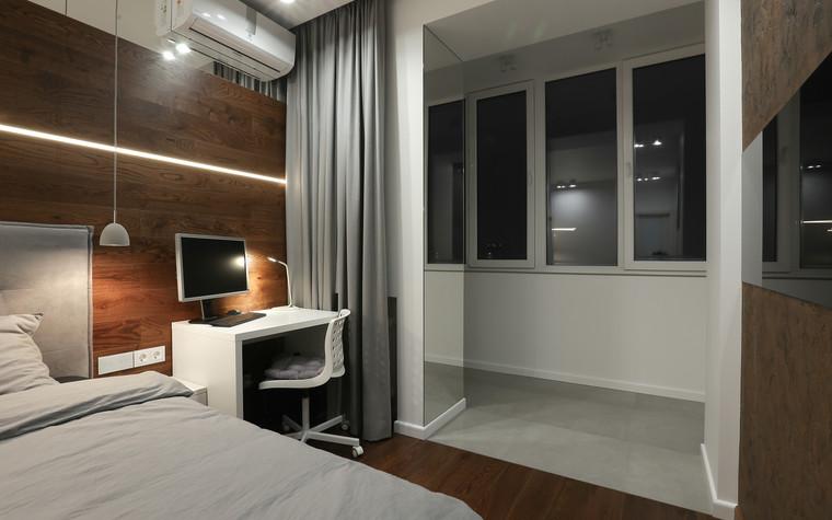 Квартира. спальня из проекта , фото №73618