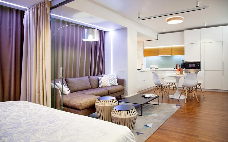 Квартира. гостиная из проекта , фото №73884