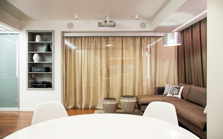 Квартира. гостиная из проекта , фото №73885