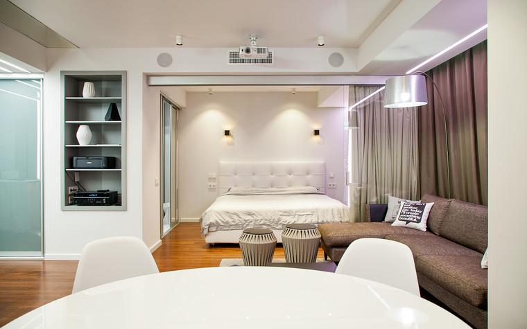 Квартира. гостиная из проекта , фото №73886