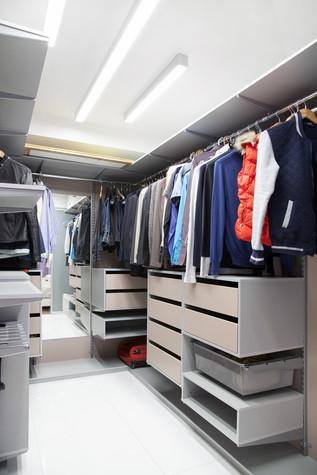 Квартира. гардеробная из проекта , фото №73895
