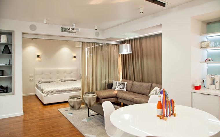 Квартира. гостиная из проекта , фото №73882
