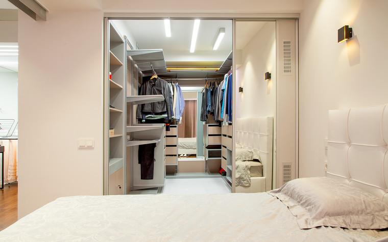 Квартира. гардеробная из проекта , фото №73896