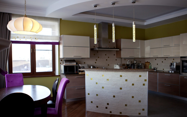 Квартира. кухня из проекта , фото №74077