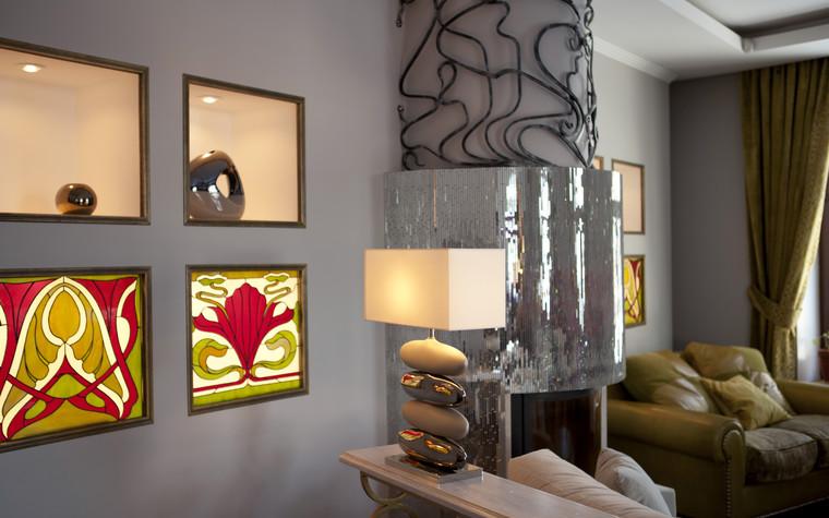 Квартира. гостиная из проекта , фото №74075
