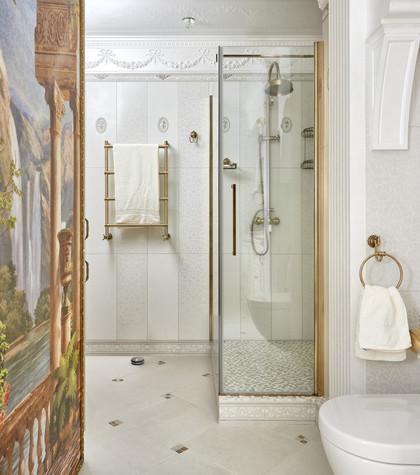 Маленькие ванны, фото угловых ванных комнат