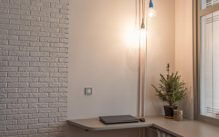 Квартира. гостиная из проекта Цветные отголоски в современной классике, фото №74247
