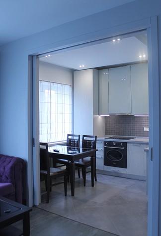 Квартира. кухня из проекта , фото №74395
