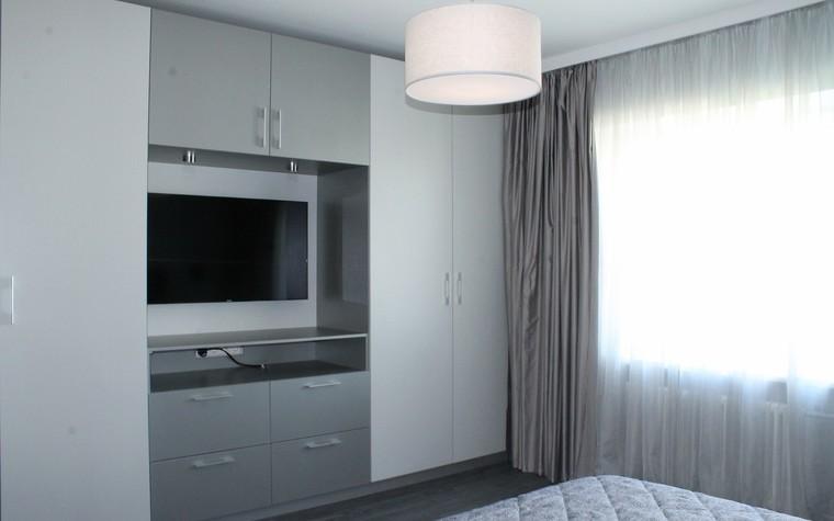 Квартира. спальня из проекта , фото №74393
