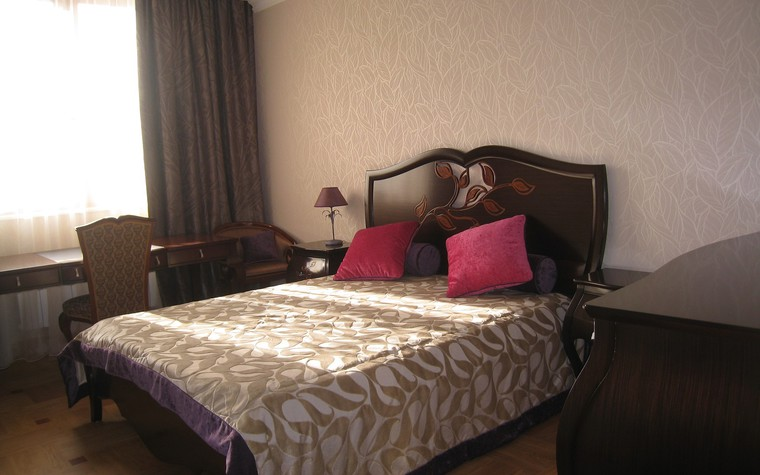 Квартира. спальня из проекта , фото №74426