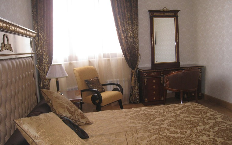 Квартира. спальня из проекта , фото №74435