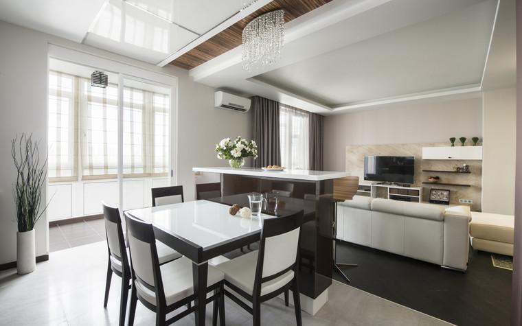 Квартира. кухня из проекта Сокольники, фото №74853