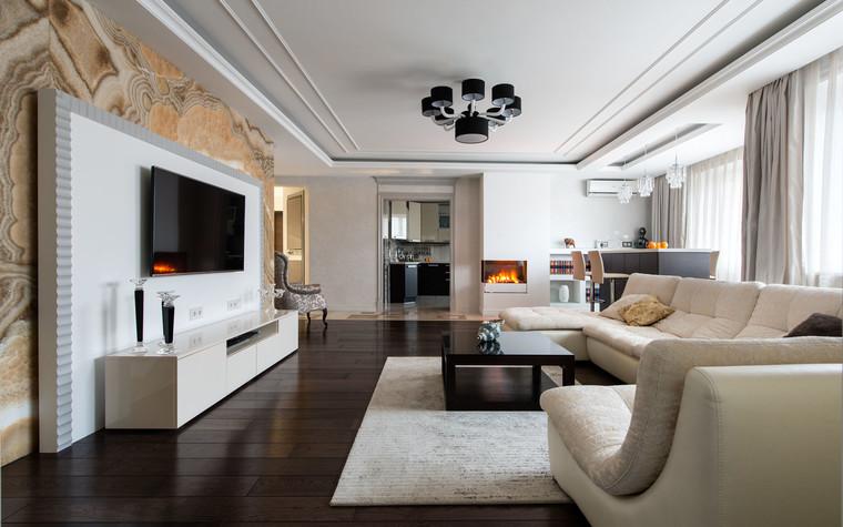 Квартира. гостиная из проекта Современность и немного истории, фото №75154