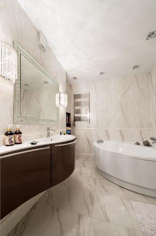 Квартира. ванная из проекта Современность и немного истории, фото №75161