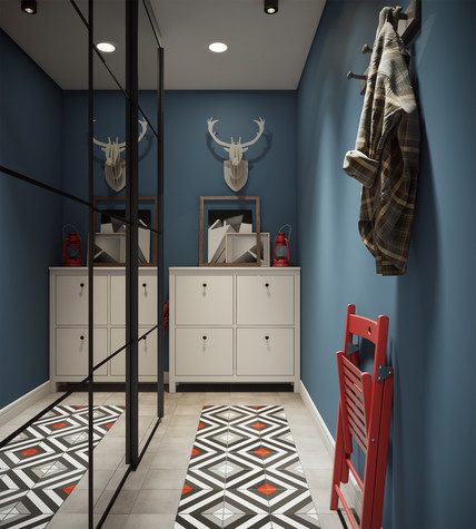 дизайн маленькой прихожей и коридора фото маленьких коридоров