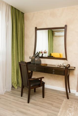Квартира. спальня из проекта Квартира в ЖК Приокский парк, фото №75352