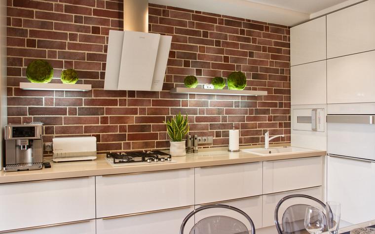Квартира. кухня из проекта Квартира в ЖК Приокский парк, фото №75358