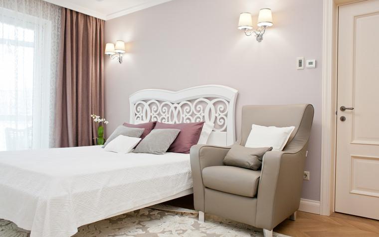Квартира. спальня из проекта Квартира с видом на набережную, фото №75556