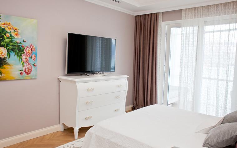 Квартира. спальня из проекта Квартира с видом на набережную, фото №75557