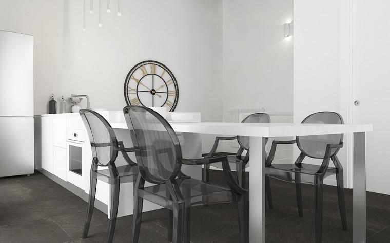 Квартира. кухня из проекта В лучах южного солнца., фото №75616