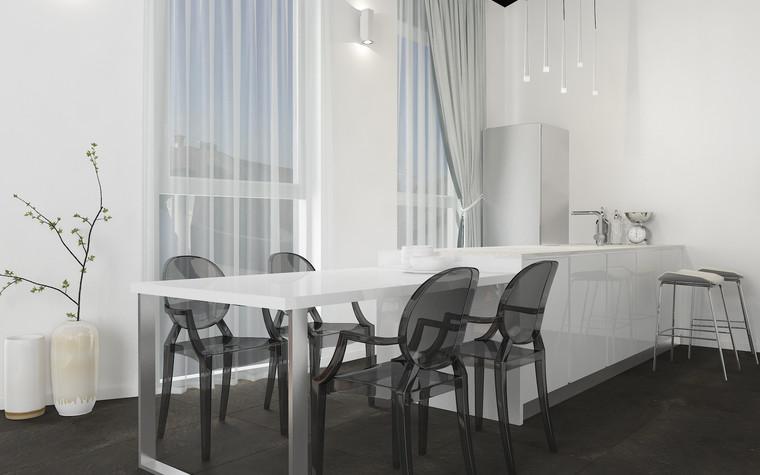 Квартира. кухня из проекта В лучах южного солнца., фото №75619