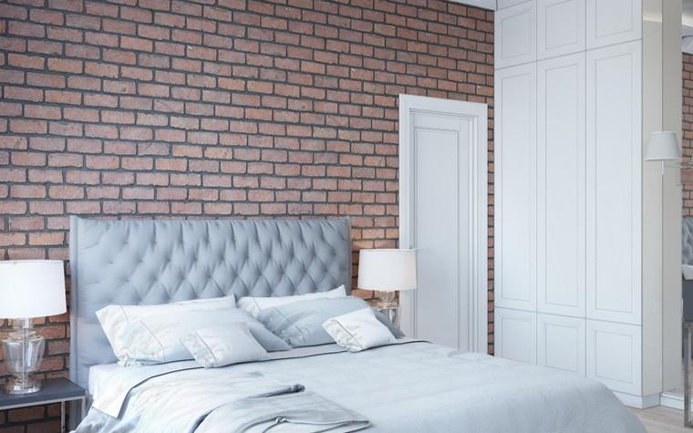 Квартира. спальня из проекта Квартира в Уфе, фото №75762