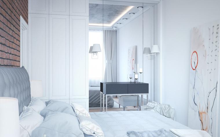 Квартира. спальня из проекта Квартира в Уфе, фото №75761