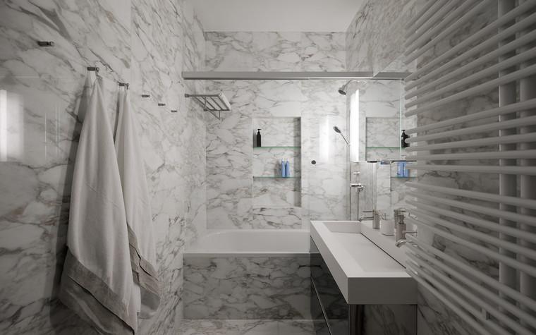 Квартира. ванная из проекта Квартира на Рочдельской, фото №75872