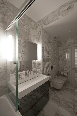 Квартира. ванная из проекта Квартира на Рочдельской, фото №75873
