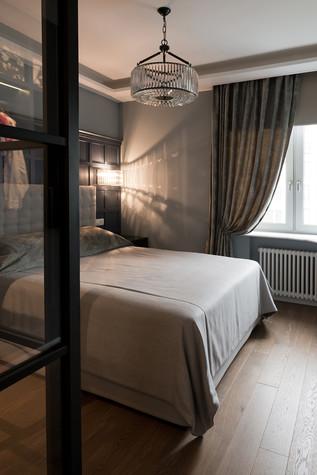 Квартира. спальня из проекта Квартира на Рочдельской, фото №75878