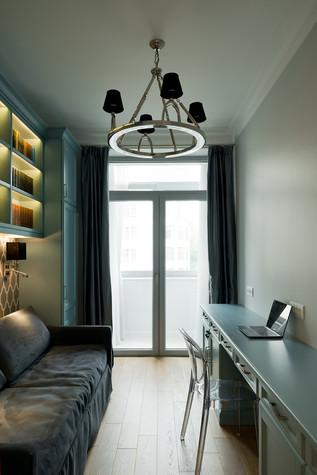 Квартира. кабинет из проекта Квартира на Рочдельской, фото №75882