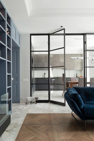 Квартира. гостиная из проекта Квартира на Рочдельской, фото №75862