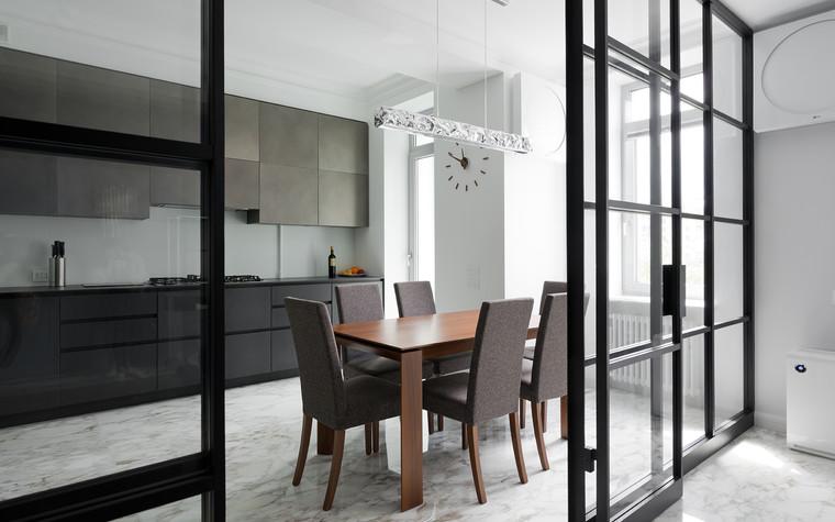 Квартира. кухня из проекта Квартира на Рочдельской, фото №75870