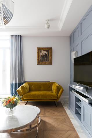 Квартира. гостиная из проекта Квартира на Рочдельской, фото №75865
