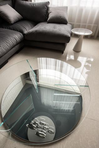 Квартира. гостиная из проекта Интерьеры квартиры на ул.Мосфильмовская, фото №76051