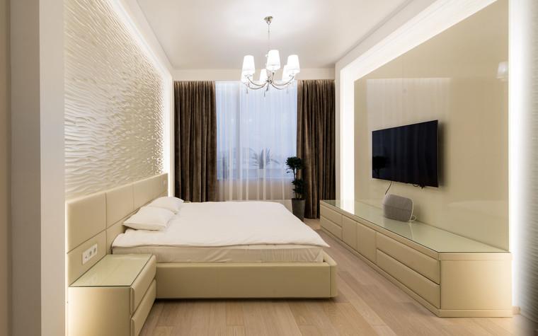 Квартира. спальня из проекта Интерьеры квартиры на ул.Мосфильмовская, фото №76066