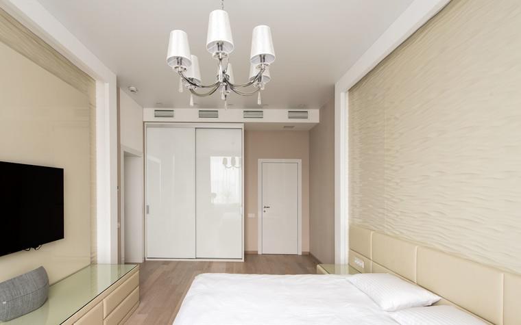 Квартира. спальня из проекта Интерьеры квартиры на ул.Мосфильмовская, фото №76068