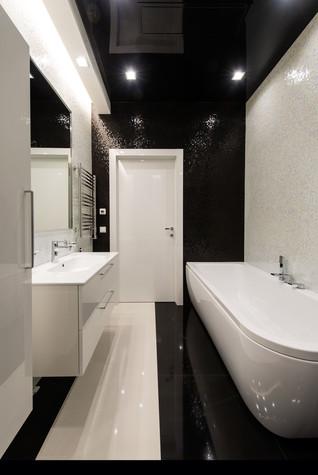 Квартира. ванная из проекта Интерьеры квартиры на ул.Мосфильмовская, фото №76072