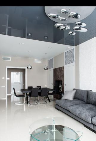 Квартира. гостиная из проекта Интерьеры квартиры на ул.Мосфильмовская, фото №76049