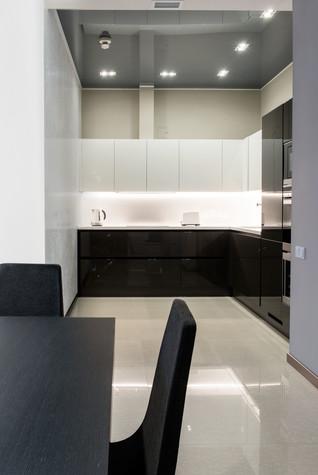 Квартира. кухня из проекта Интерьеры квартиры на ул.Мосфильмовская, фото №76060