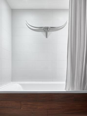 Квартира. ванная из проекта Квартира в серых тонах, фото №76145