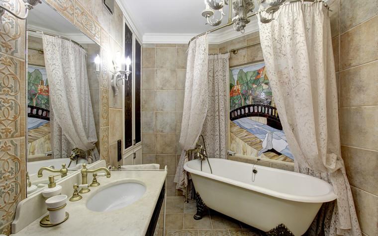 Квартира. ванная из проекта Квартира в Москве, фото №76556