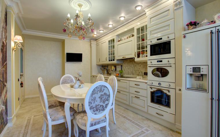 Квартира. кухня из проекта Квартира в Москве, фото №76554