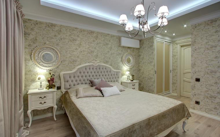 Квартира. спальня из проекта Квартира в Москве, фото №76557