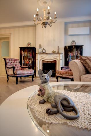 Квартира. гостиная из проекта Квартира в Москве, фото №76560