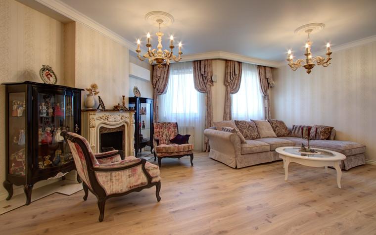 Квартира. гостиная из проекта Квартира в Москве, фото №76561