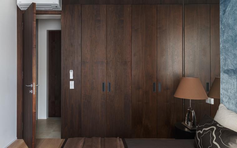Квартира. спальня из проекта Апартаменты на 1-м Зачатьевском переулке, фото №77166