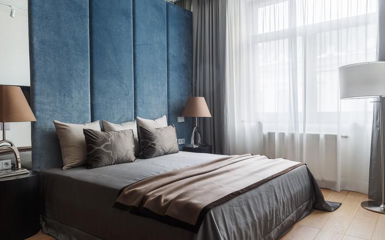 Квартира. спальня из проекта Апартаменты на 1-м Зачатьевском переулке, фото №77167