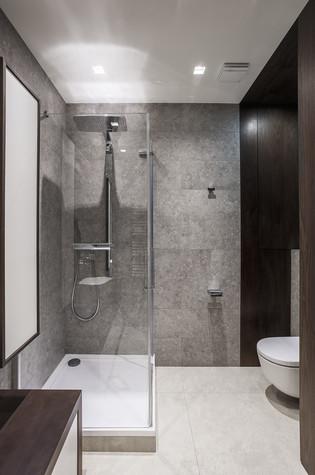 Квартира. ванная из проекта Апартаменты на 1-м Зачатьевском переулке, фото №77169